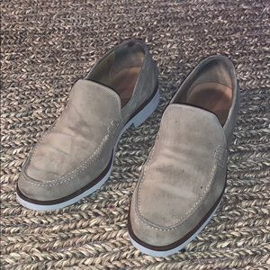 Size 10 Coach men's loafers.